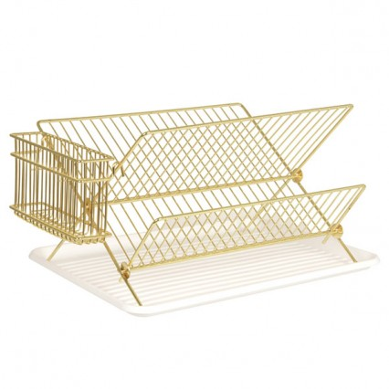 gold-wire-dish-rack