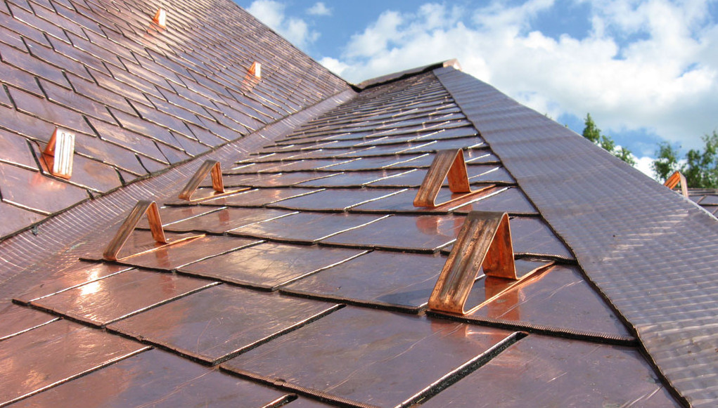 Get Rid Of Plain Roofing Use Copper Accents To